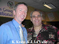 John La Valle and Klaus Krebs